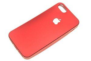 Capinha de Celular iPhone 5-5S Silicone Vermelha