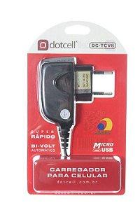 Carregador de Celular V8 Micro USB Marca Dotcell