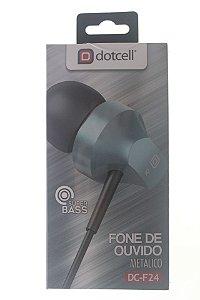 Fone P2 Dotcell DC-F24 Azul (Metalizado)