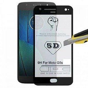 Película de Vidro 3D-4D-5D-6D Borda Preta Linha IPHONE