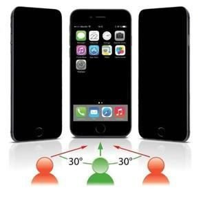 Película de Vidro Temperado Privacidade iPhone 7