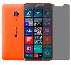 Película Protetora de Tela Privacidade Feita em Vidro Temperado para Celular Nokia Lumia 640XL