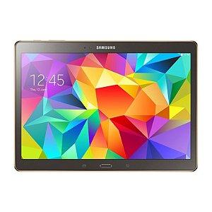 Película Protetora de Tela Feita em Vidro Temperado para Celular Samsung Galaxy Tab S SM-T800/P5100 - 10.5 Pol.