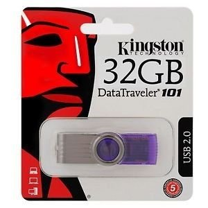 Pen Drive Kingston Usb 2.0 DataTraveler Modelo 101 32GB