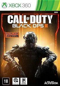 Jogo XBOX 360 Usado Call of Duty: Black Ops 3