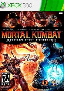 Jogo XBOX 360 Usado Mortal Kombat Komplete Edition