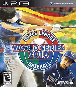 Jogo PS3 Usado Little League World Series 2010 Baseball