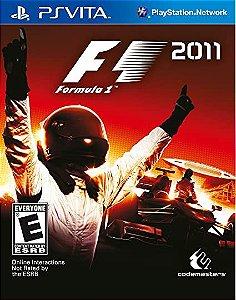 Jogo PSVITA Usado F1 2011