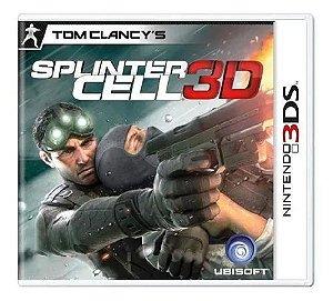 Jogo 3DS Usado Splinter Cell 3D
