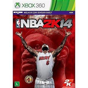 Jogo XBOX 360 Usado NBA 2K14