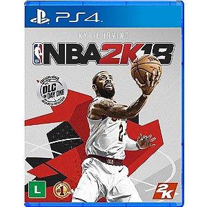 Jogo PS4 Usado NBA 2K18