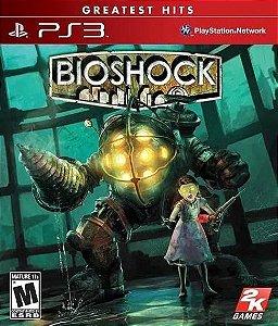 Jogo PS3 Novo Bioshock (Greatest Hits)
