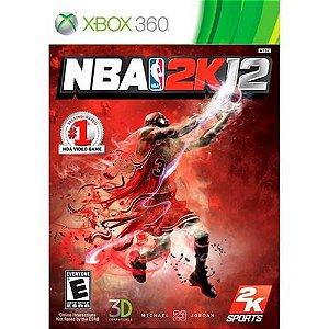 Jogo XBOX 360 Usado NBA 2K12