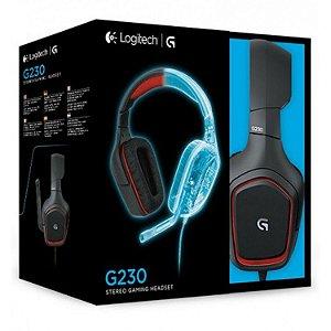 Headset Novo Logitech G230