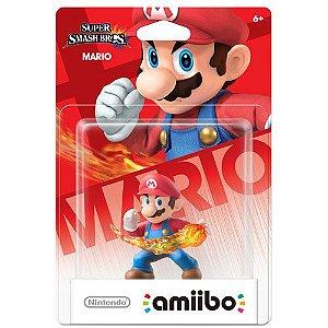 Amiibo Novo Mario Super Smash Bros