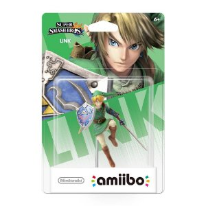 Amiibo Novo Link Super Smash Bros