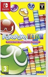Jogo Switch Usado Puyo Puyo Tetris