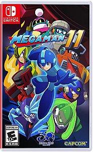 Jogo Switch Novo Mega Man 11