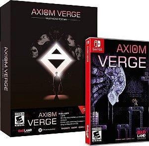 Jogo Switch Usado Axiom Verge (Multiverse Edition)