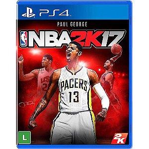 Jogo PS4 Usado NBA 2K17