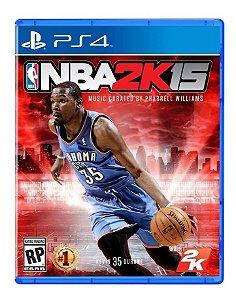 Jogo PS4 Usado NBA 2K15