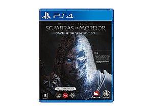 Jogo PS4 Usado Sombras de Mordor (GOTY EDITION)