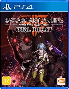 Jogo PS4 Usado Sword Art Online: Fatal Bullet
