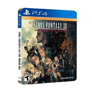 Jogo PS4 Usado Final Fantasy XII: The Zodiac Age (Steelbook)