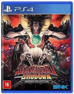 Jogo PS4 Usado Samurai Shodown Neogeo Collection