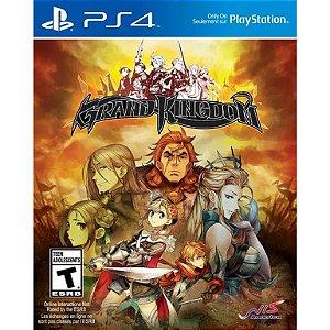 Jogo PS4 Usado Grand Kingdom
