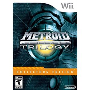 Jogo Wii Usado Metroid Prime Trilogy Collector's Edition (Steelbook)