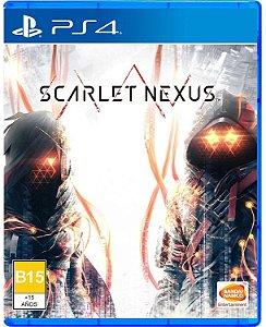 Jogo PS4 Novo Scarlet Nexus