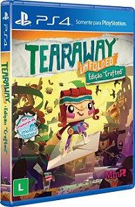 Jogo PS4 Usado Tearaway Unfolded: Edição Crafted