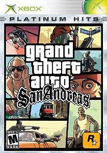 Jogo XBOX Usado Grand Theft Auto: San Andreas (Platinum Hits)
