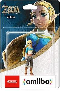 Amiibo Novo Zelda (Zelda Breath of the Wild)