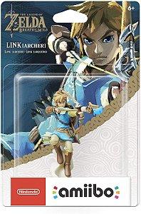 Amiibo Novo Link Archer (Zelda Breath of the Wild)