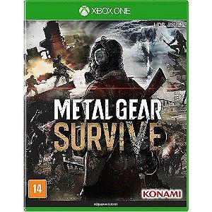 Jogo XBOX ONE Novo Metal Gear Survive