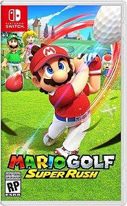Jogo Switch Novo Mario Golf Super Rush