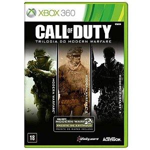 Jogo XBOX 360 Usado Call of Duty: Modern Warfare Trilogy