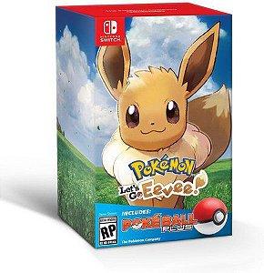 Jogo Nintendo Switch Usado Pokémon Let's Go Eevee + Poké Ball Plus