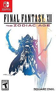 Jogo Switch Usado Final Fantasy XII: The Zodiac Age