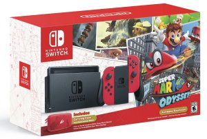 Console Usado Nintendo Switch (Super Mario Odyssey Bundle)