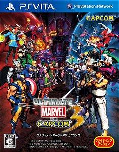 Jogo PSVITA Usado Ultimate Marvel vs. Capcom 3 (JP)