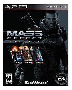 Jogo PS3 Usado Mass Effect Trilogy