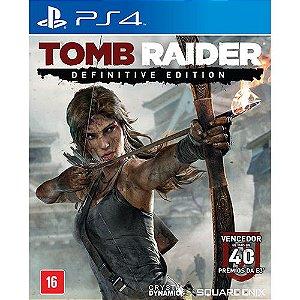 Jogo PS4 Usado Tomb Raider: Definitive Edition