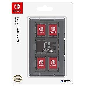 Acessório Switch Novo HORI Game Card Case 24