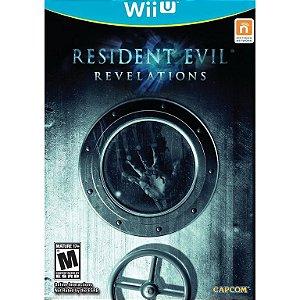 Jogo WiiU Resident Evil Revelations