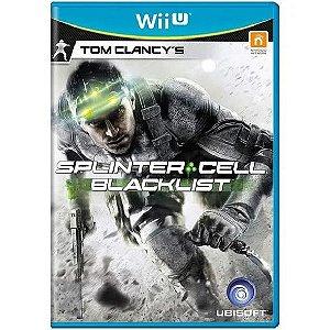 Jogo WiiU Splinter Cell Blacklist
