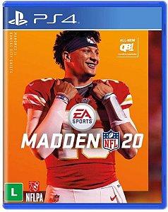 Jogo PS4 Usado Madden NFL 20