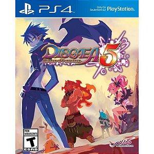 Jogo PS4 Usado Disgaea 5: Alliance of Vengeance